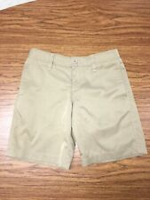 Under Armour Youth Match Play Golf Shorts Boys Size 6 Khaki