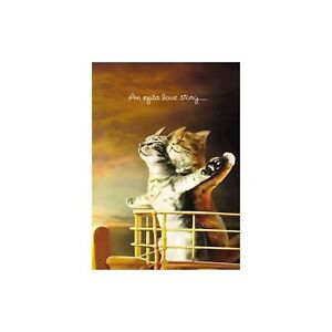 Cat Titanic Anniversary Greeting Card & Envelope by Tree Free