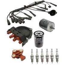 BMW E28 E30 E34 525i 325iX 325i Tune Up Ignition Wire Set Rotor Oil Fuel Filter