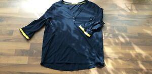 Shirt von Cecil, Gr. XL, dunkelblau