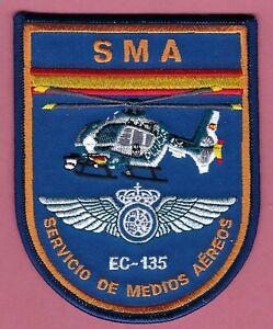 SPAIN GUARDIA CIVIL SMA SERVICIO DE MEDIOS AEREOS EC-225 POLICE HELICOPTER PATCH