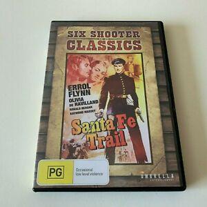 Errol Flynn in Santa Fe Trail dvd  FREE POST