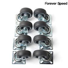 8 x Lenkrollen 50mm Möbelrollen Transportrollen Apparaterollen 40KG/Roll DEDHL
