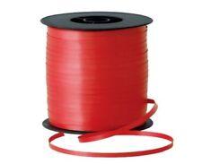 Nœuds, rubans et ficelles rouge sans marque pour emballage et paquet cadeau