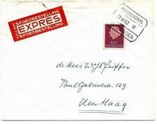 Treinblokstempel Roosendaal - Vlissingen VI op 62 ct Expresse brief 1962