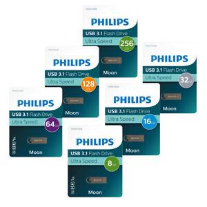 Philips USB-Stick Moon Edition Alu USB 3.1 Laufwerk bis 256 GB Speicherkapazität