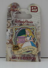 Walt Disney World 40th Anniversary Alice in Wonderland Mad Tea Party LE Pin