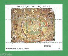 Spain Edifil 2591 **   Tapiz de la Creación. Gerona  MNH   HOJITA