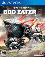 Used PS Vita GOD EATER 2 SONY PS VITA PLAYSTATION JAPANESE  IMPORT