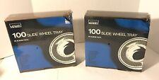 Montgomery Ward 100 Slide Wheel Tray in Album Packs lot of 2 part number 67-3473