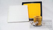 Suits TOYOTA AURION GSV50R 2012 on 3.5L V6 OIL AIR & CABIN FILTER SERVICE KIT