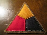 WWI US Army patch Tank Corps, Patch AEF wool/felt