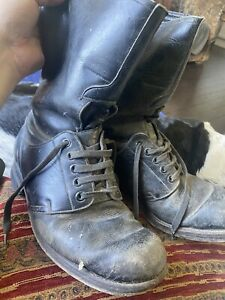 early RAF Flying /escape Boots Rare Size 8 Flight Bomber command Pilots boots