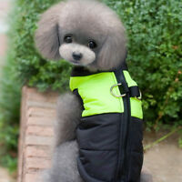 Snowsuit Dog Ski Jacket Snow Winter Coat Padded Puffer Clothes Apparel Costume