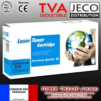 Toner Laser TN2120 TN2125 compatible Brother HL2170W DCP7030 7045N MFC7320 7840W