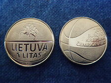 Unique and Soon to be Rare Basketball Coin from Lithuania ~ 2011, Uncirculated.