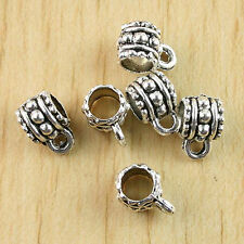 20pcs Tibetan Silver Cup connector bail fit the chain H0869