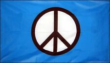 5' x 3' CND Flag Campaign for Nuclear Disarmament Peace Sign Anti War Banner