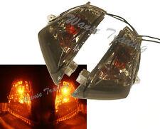 Rear Turn Signals Light Bulb Smoke Lens Fit 2006-2007 SUZUKI GSXR 600 750 K6 K7