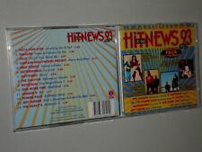 K-TEL HIT NEWS 93 VOL.1 CD MIT ERASURE DEEP FOREST GOTTHARD THE SHAMEN UNIQUE 2