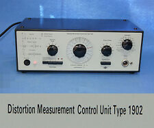 Bruel and Kjaer Distortion Measurement Control unit Type 1902