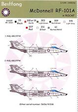 Bestfong Decals 1/144 MCDONNELL RF-101A VOODOO Repulic of China Air Force