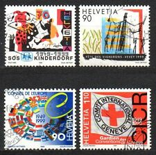 Switzerland - 1999 Events (I) Mi. 1686-89 FU