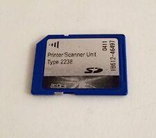 Ricoh Printer/Scanner SD card Unit Type 2238