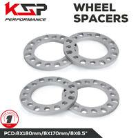 "4x 1/2"" 8 Lug Wheel Spacers 8x170 For Ford F250 F350 Superduty Trucks 4x4 Chevy"