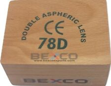 BEST BRAND BEXCO 78 D ,78D Double Aspheric lens with wood case DHL SHIPPING