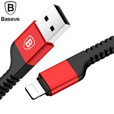 BASEUS Braided Lightning Cable 4.9 FT USB Charger for iPhone X 7 6s 6 8 Plus