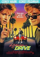 movie film repro License to drive Poster Print A3 more in stock This A Poster