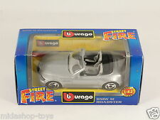 [PG3-38] BBURAGO BURAGO 1/43 STREET FIRE #4169 BMW M ROADSTER GREY GRIGIO NEW