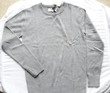 MENS GREY CREW NECK JUMPER_SIZE S_BRAND NEW WITH TAG- CLEARANCE-BRAND TG