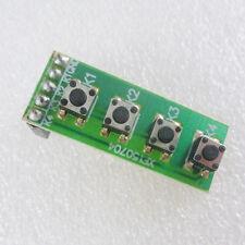 4 Buttons Keyboard Module Switch  for Arduino UNO MEGA2560 Breadboard  FPGA CPLD