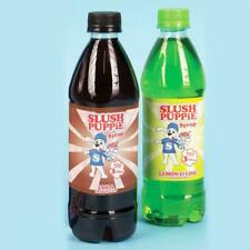 Official Slush Puppie Syrup 2 Pack Gift Set Cola + Lemon & Lime Flavours