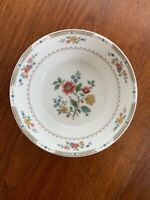 """ROYAL DOULTON #TC115 KINGSWOOD FLOWERS & LAUREL 6 1/4"""" COUPE CEREAL BOWL"""
