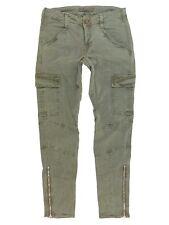 $231 J Brand 1229 Houlihan Zip Cargo Pants in Vintage West Point Size 25