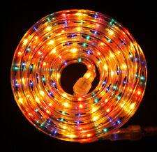 "Flexilight® Multi Color Rope Light 12Ft 110V 120V 2-Wire 1/2"" Incandescent Bulbs"