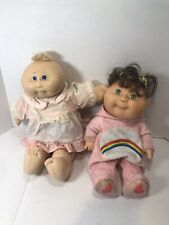 GIRL CABBAGE PATCH KIDS DOLL Lot Of 2  90s