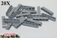 20X Lego® 32316 Technic Liftarme Beams 1X5 neues Hellgrau Light Bl. Gray NEU