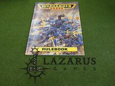 Warhammer 40k Rulebook, Rule Book - (oop, 2nd Ed)
