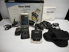 Garmin iQue 3600 PDA with GPS and original Accessories