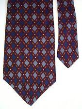 "Perry Ellis Men's Neck Tie Diamonds Geo Navy Blue 3 7/8"" x 58"""