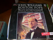 JOHN WILLIAMS-BOSTON POPS-THAT'S ENTERTAINMENT-LP-VG-PHILIPS-ANNIE-EVITA-GIGI