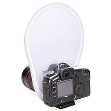 Mini Circular Lens-Mount On Camera Reflector Diffuser For Canon YongNuo