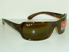 New  RAY BAN  Sunglasses  SIDESTREET  Glass  POLARIZED  Brown  RB 4075 642/57