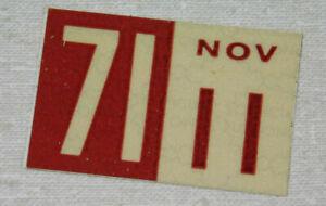 1971 Delaware passenger car license plate sticker
