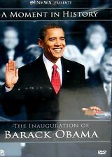 A Moment In History:The Inauguration of Barack Obama NEW! DVD ,EDUCATIONAL