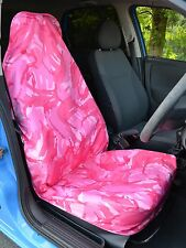 pink Tarnfarbe Wasserfest Auto / Van universell einzeln vorne Sitzbezug